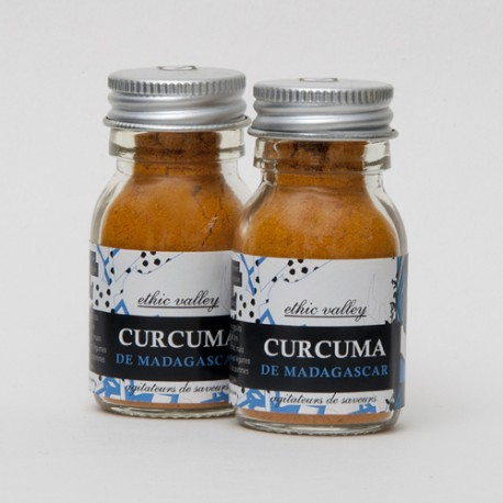 Curcuma en poudre  – Madagascar – CTHT