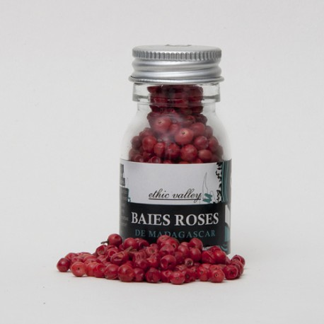 Baies roses - mini flacon - 9g
